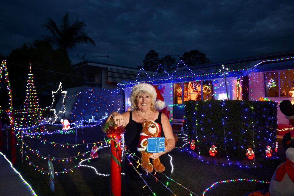 image for sale christmas lights in gympie 2016 entrant karen grills fro 20 leonard street