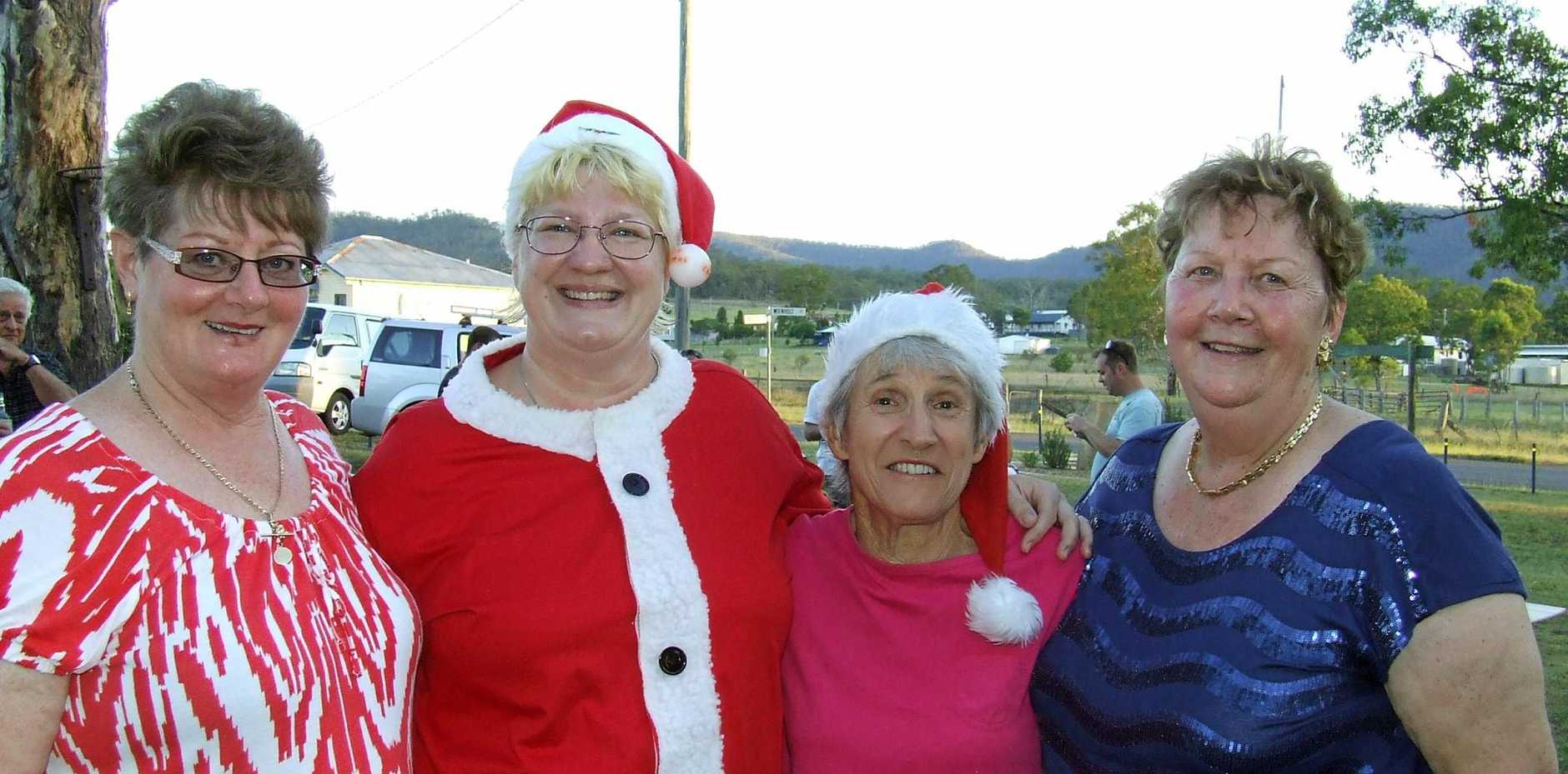 FESTIVE: The Maryvale Progress Association is looking forward to the town's Carols in the Park event today.