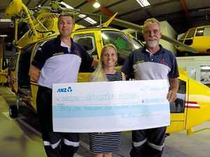 $31,500 to help service 'save by soaring on angel wings'
