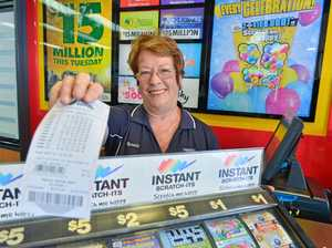 LUCKY CITY: Visitors are buying lotto tickets in Gladstone