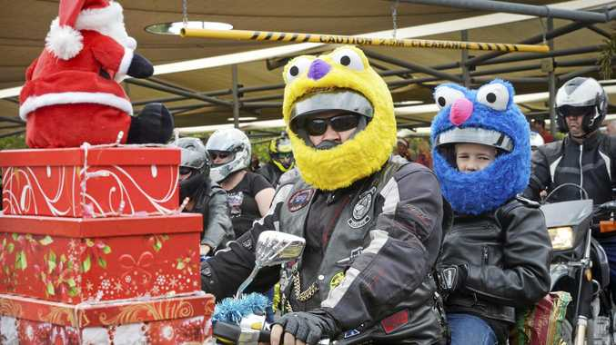 GOOD CAUSE: The Ulysses Club will hold the 20th annual toy run from Brassall Shopping Centre on Sunday.