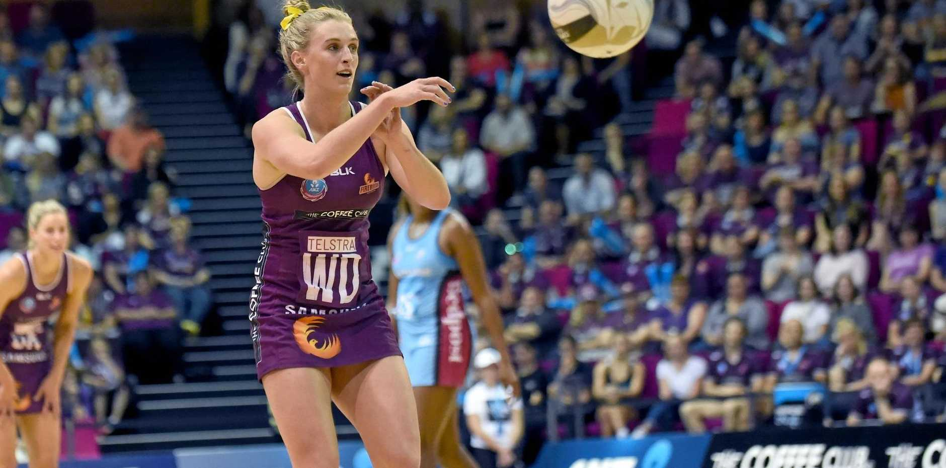Queensland Firebirds leader Gabi Simpson.