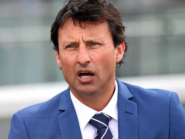 NSW coach Laurie Daley speaks to the media.