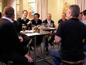 Toowoomba men hit pubs for new child birth classes