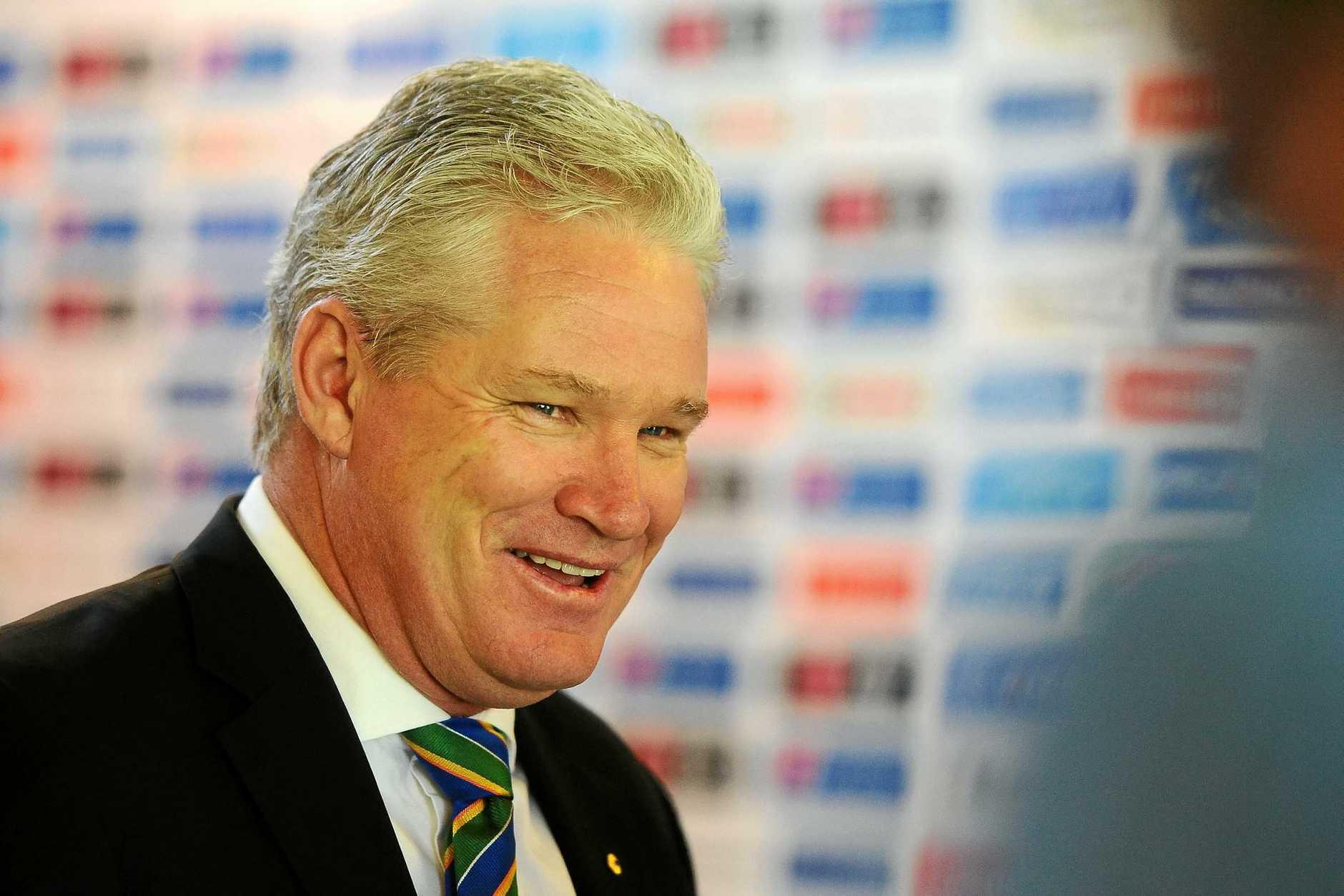 Former Australian cricketer Dean Jones.