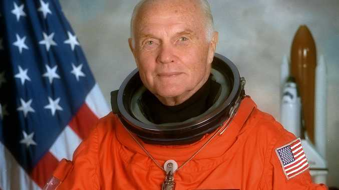 John Glenn, the first US astronaut to orbit Earth and oldest to enter space, has died aged 95.