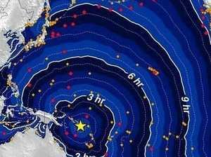 Quake near Solomon Islands sparks tsunami warning