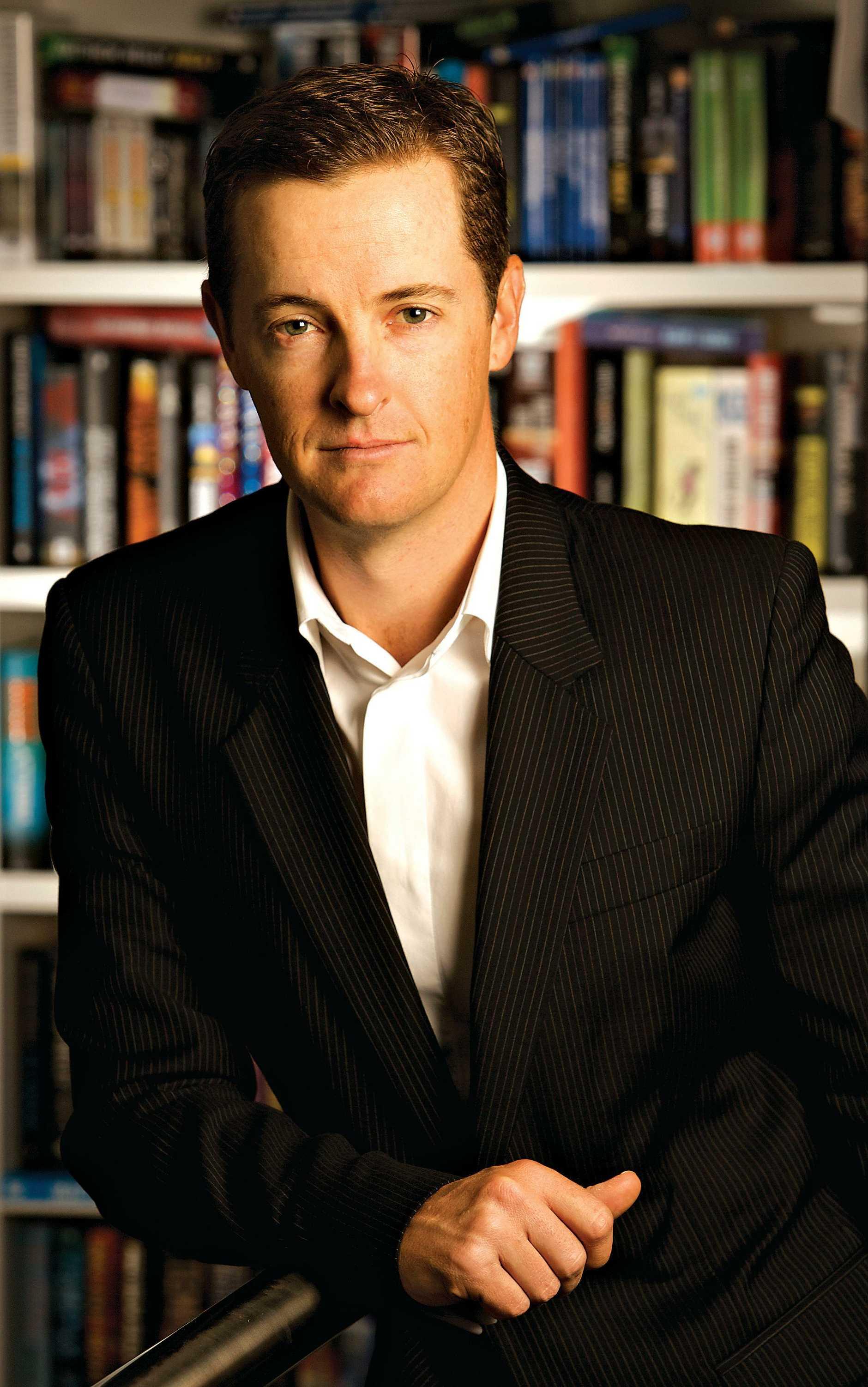 Australian author Matthew Reilly.