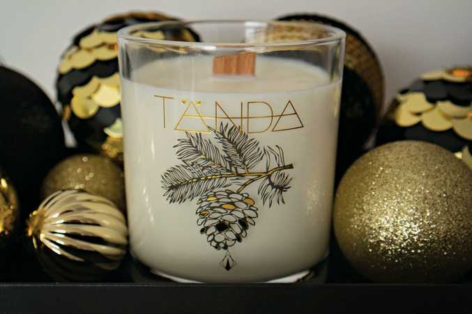 TÄNDA Limited Edition Christmas Candle S,M,L from $29.95 (free shipping in time for Christmas), www.tandamodern.com