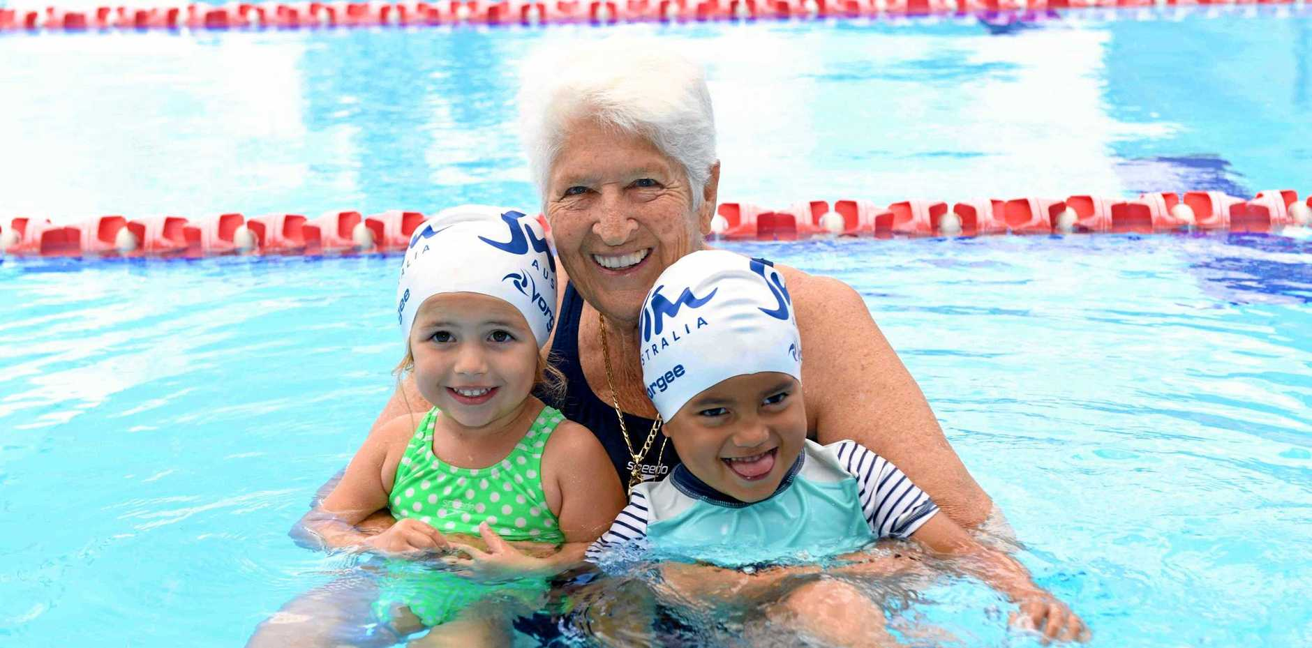 Olympic legend Dawn Fraser is encouraging parents to get their children to swimming lessons.