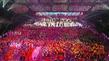 The world record number of performers at the School Spectacular