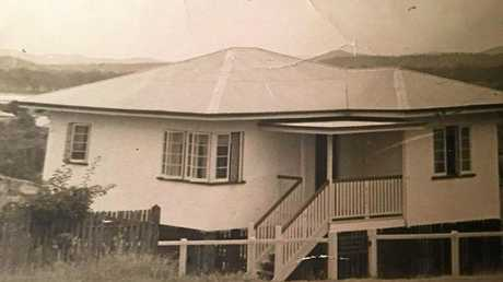 The house Robert Thomas lived in with his twin Rowland, brother Roger and parents Edna and Glyn in Rockhampton between 1952 and 1959. Location unknown.