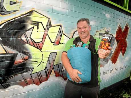 COMPASSIONATE: Pastor Dale Dowler of The Shack in Nambour says the Sunshine Coast's sense of empathy is maturing.