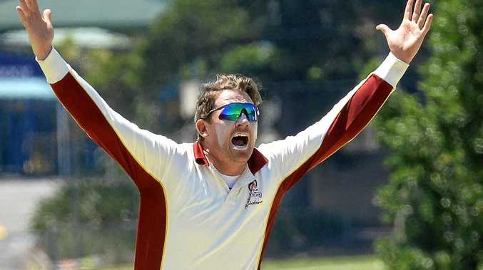Centrals first division captain and Queensland Country all-rounder Ben O'Connell.