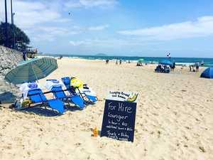 No need to BYO beach chair again