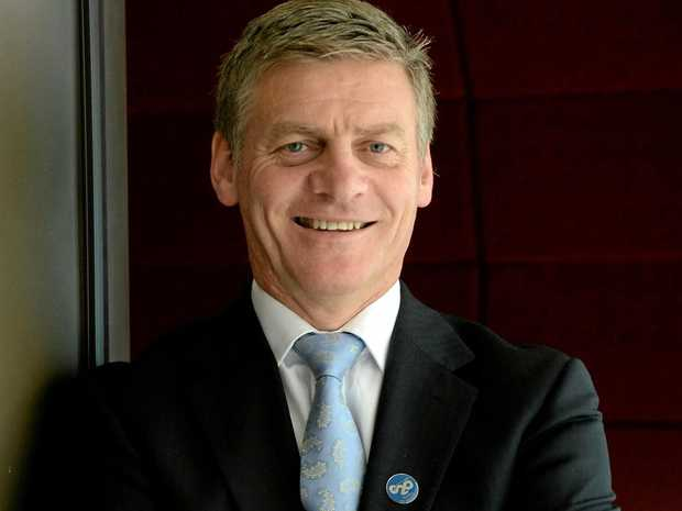 Incoming New Zealand Prime Minister Bill English.