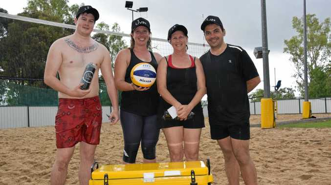 You're the voice team of Dallas Barnham, Jennifer and Sharon Harris and Peter Crosswaight won 27-20 over Sababan.