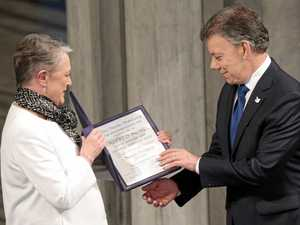 Peace deal earns Nobel Prize for Colombian leader