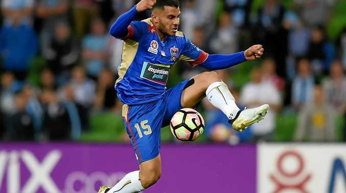 Andrew Nabbout of the Jets.