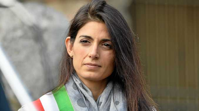 The mayor of Rome, Virginia Raggi.
