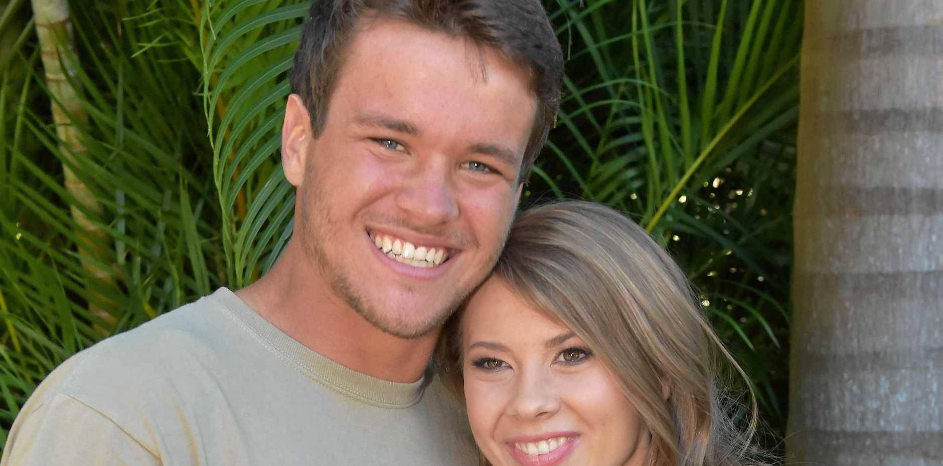 Bindi Irwin and boyfriend Chandler Powell celebrate her 18th birthday.