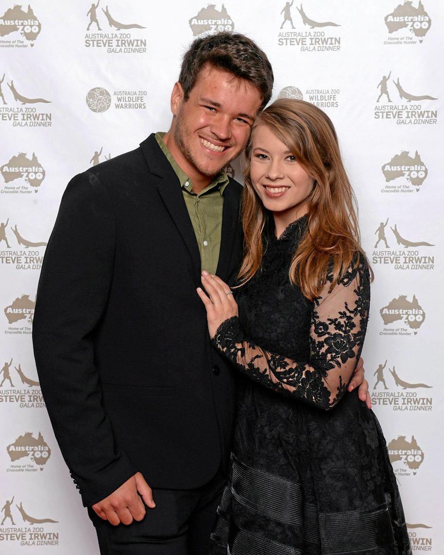 Bindi Irwin and boyfriend Candler Powell at the recent Steve Irwin Gala Dinner.