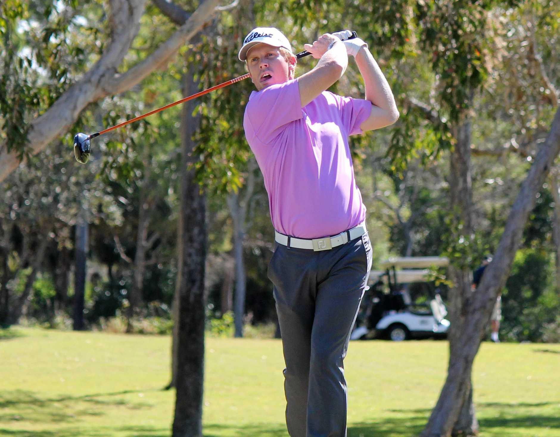 ON SONG: Gatton golfer Andrew Dodt.