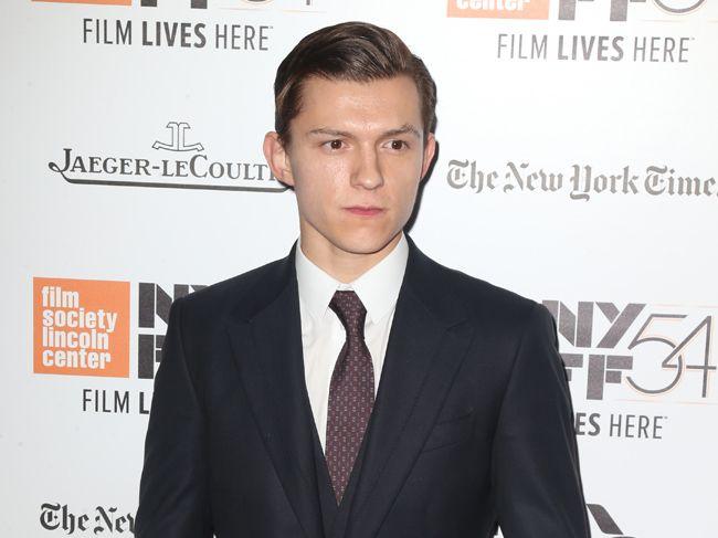 Spiderman star Tom Holland.