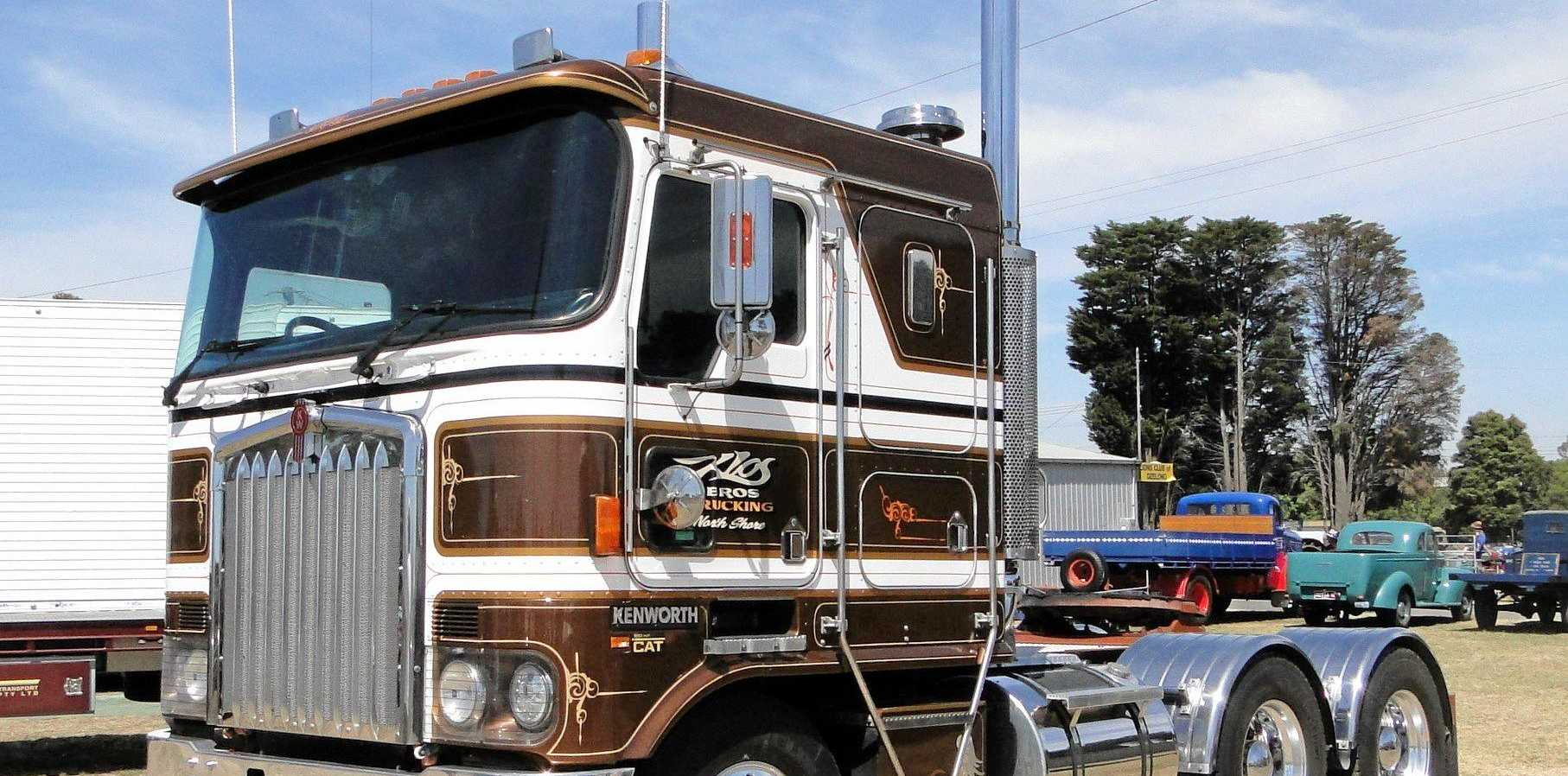 Nice Kenworth at the last Geelong Truck Show.