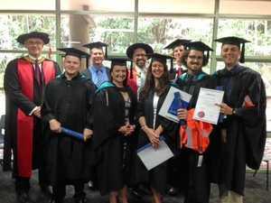 SCU celebrates as first civil engineers graduate