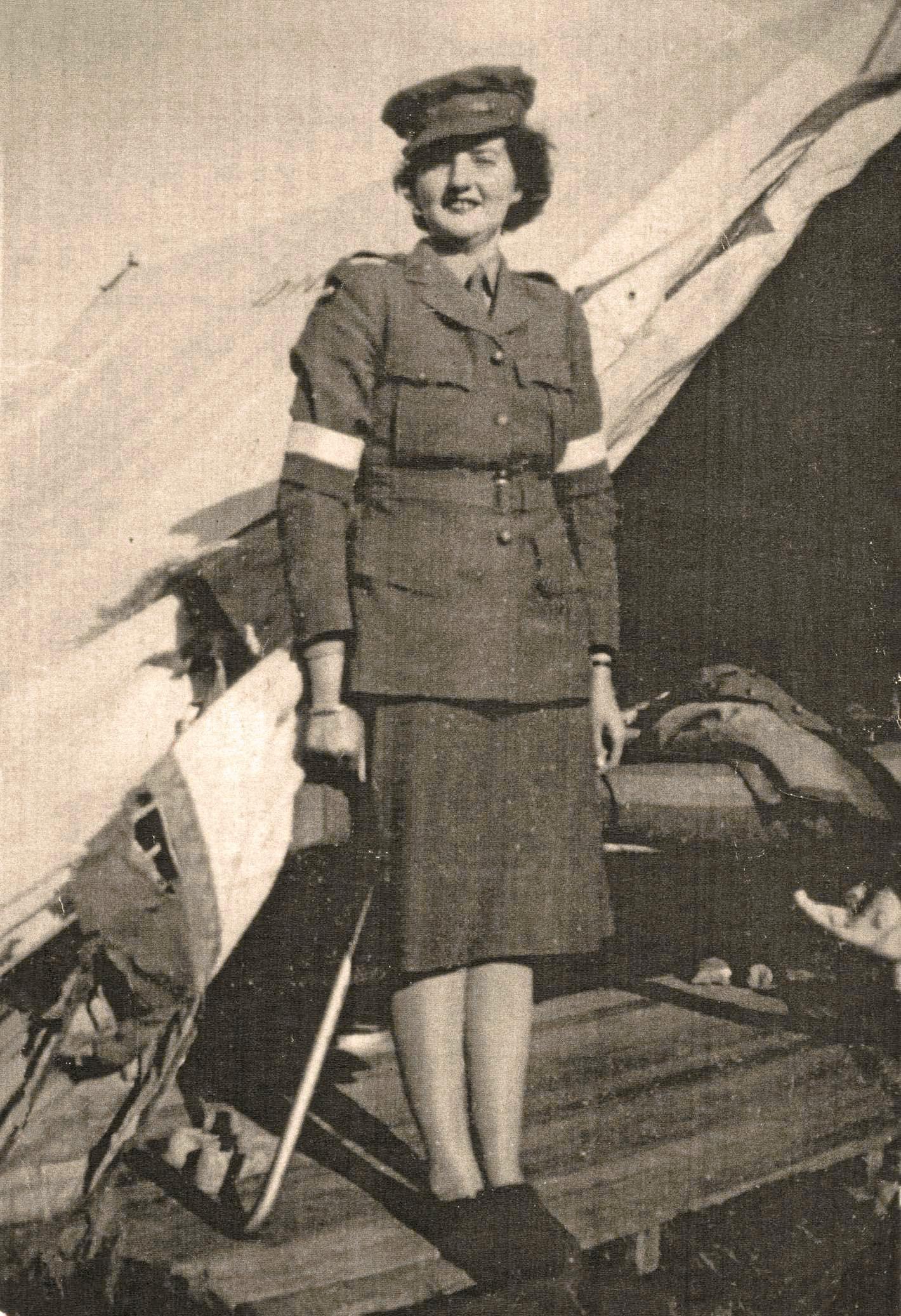 Lance Corporal Nancy Irene Ford (nee Kirkland).