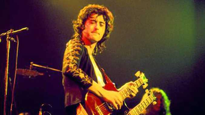 MEMORIES: Led Zeppelin's legendary guitarist Jimmy Page grew up in Epsom, Surrey with Ipswich's Michael Welham.