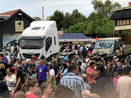 This year's Melbourne 'Christmas Party for Special Children' attracted over 3000 special needs kids and their carers. Iveco displayed two trucks at the event providing children the opportunity to get up close and personal with the vehicles.