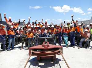 $10M on the books when slipway finally reopens