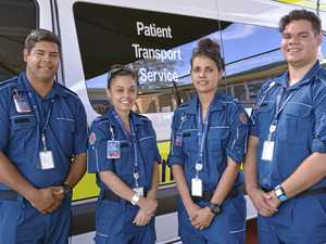 Indigenous patient transport officers welcomed to station
