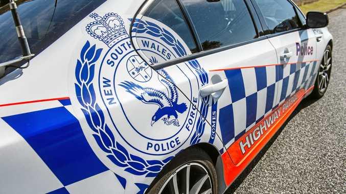 NSW police highway patrol car.
