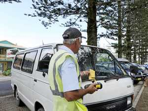 Illegal camper accused of slapping council ranger