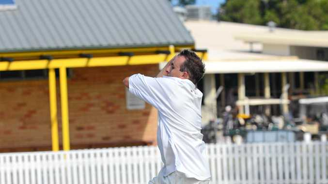 ON THE CHARGE: Maclean United firebrand Nathan Williams continued his strong season of form in the Lower Clarence Cricket Association with a five wicket haul.