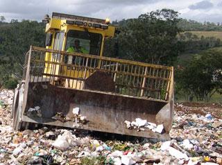 Bedford St landfill.