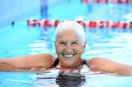 Swimming legend Dawn Fraser. Photo: Delly Carr