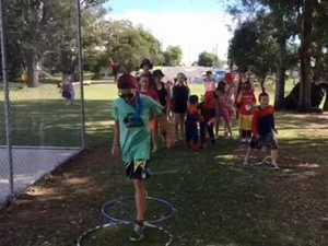 Walkathon for little athletics