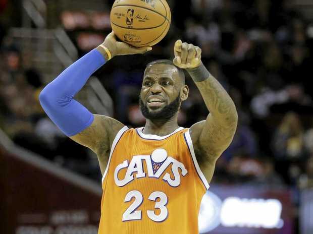 Cleveland Cavaliers superstar LeBron James.