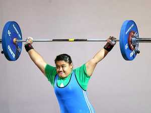 Island nation's athletes to lift for Comm Games