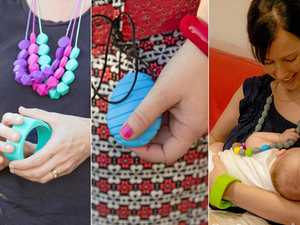 Ninja Babies' accessories are functional, colourful