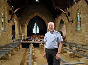 Restoration milestone for St Marks