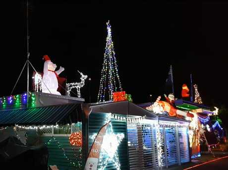 Head on a Christmas lights expedition around the Sunshine Coast this Christmas.