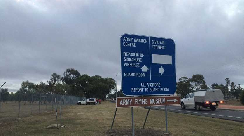 The Oakey Army Aviation Centre.