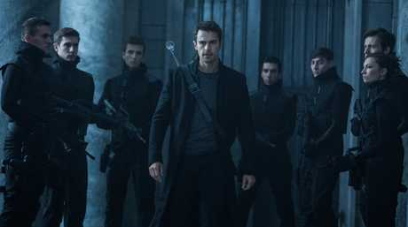 Theo James, centre, in a scene from the movie Underworld: Blood Wars.
