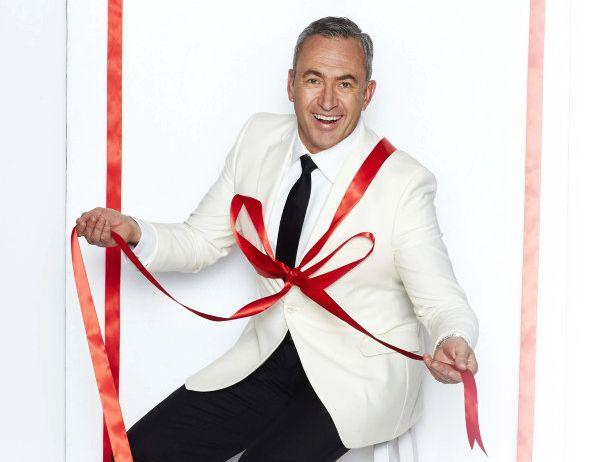 Mark Beretta co-hosts Channel 7's Carols in the Domain.