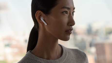 The AirPods automatically detect when they are in or out of your ear. They can also be used to access Siri, who can be instructed to find directions or make telephone calls.